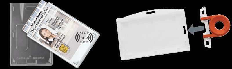 Sicherheits-Kartenhalter