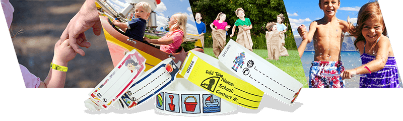 Kontrollbänder für Kinder