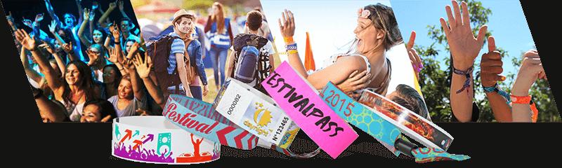 Festival- und Konzert-Armbänder