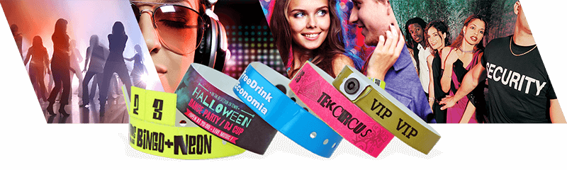 Armbänder für Nachtclubs und Bars