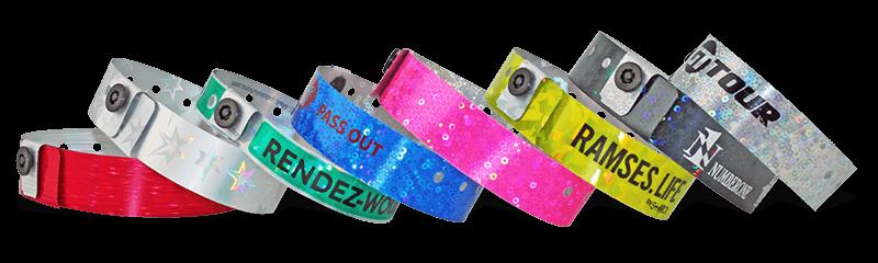 Holografische Armbänder