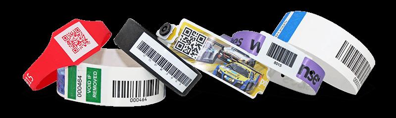 Armbänder mit Barcode