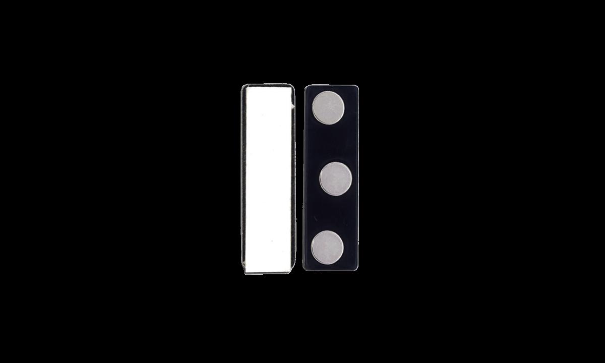 Selbstklebendes Magnet - Kunstoff-Guss (3 Magnete)