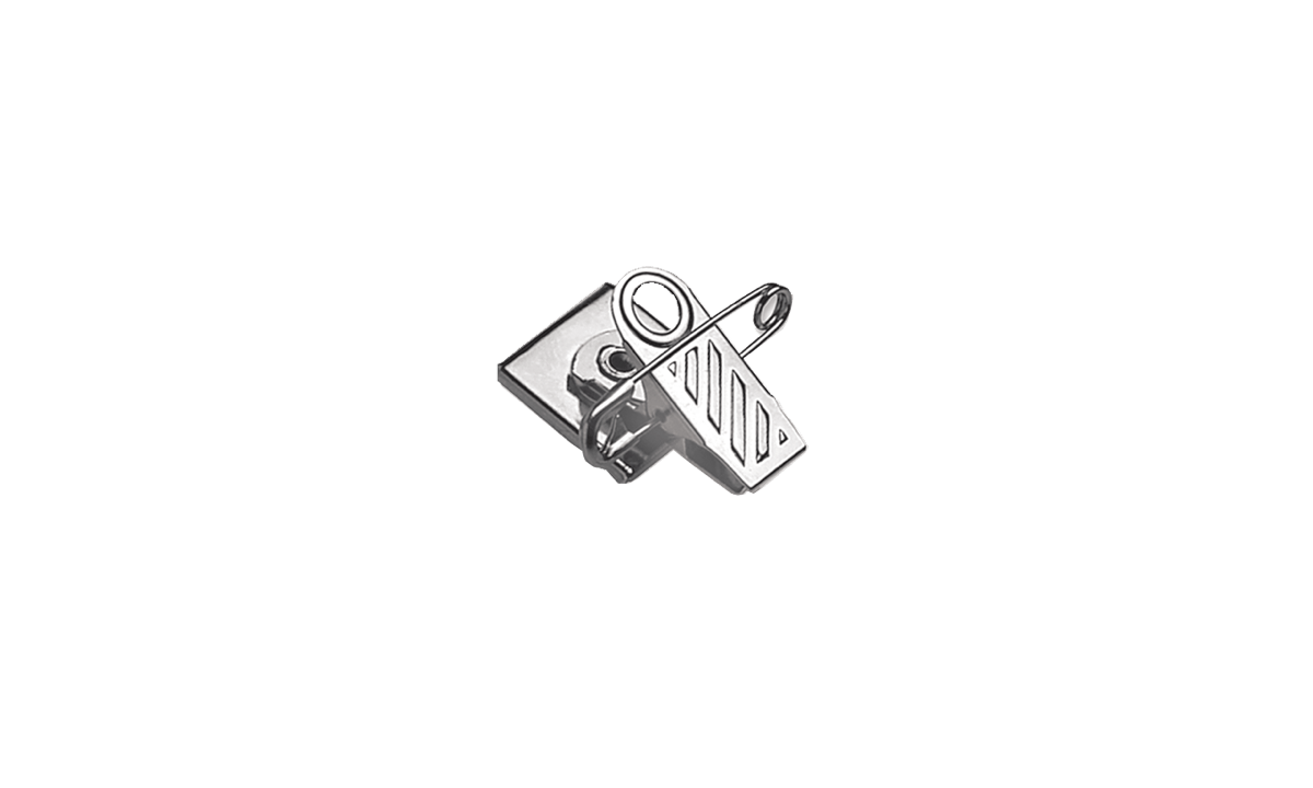 Drehbare Nadel-Clip-Aufhängung mit Schaumband
