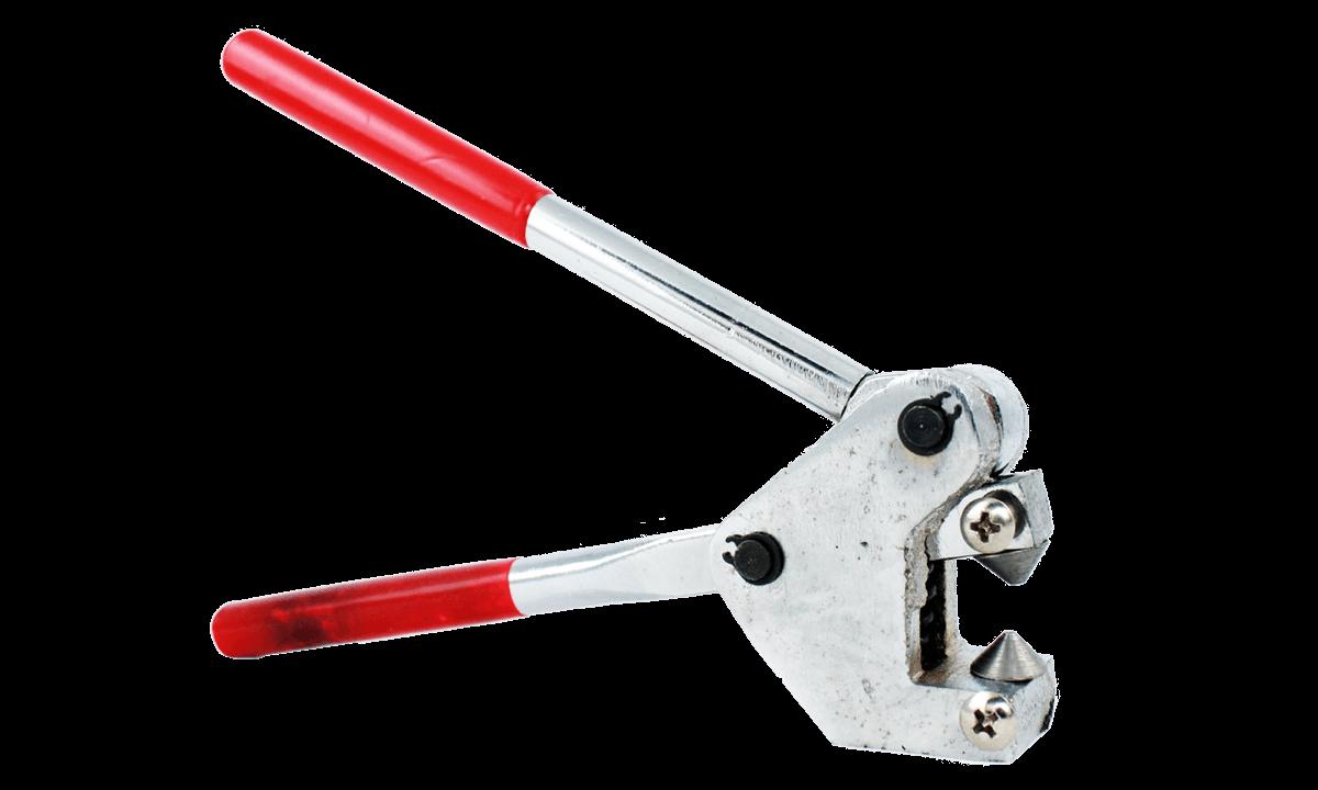 Zange für flachen Metallverschluss
