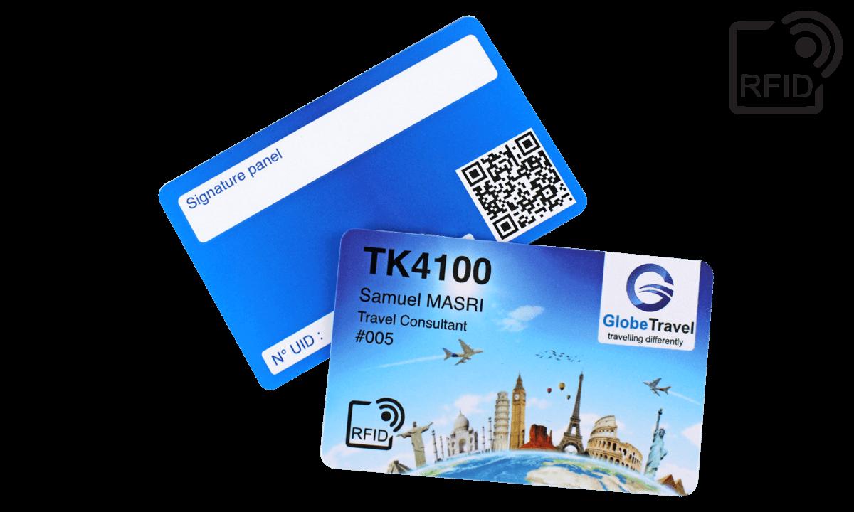 Benutzerdefinierte RFID-Karten 86 x 54 mm - TK 4100