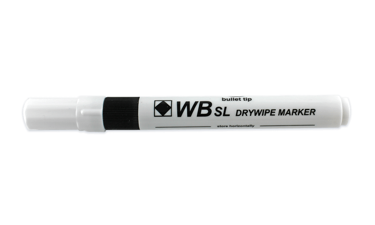 Abwaschbarer Stift - Schwarz