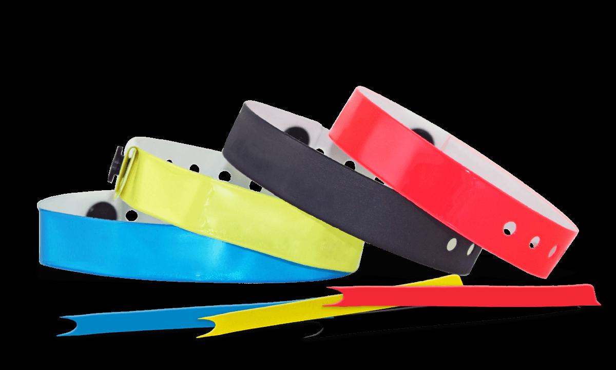 Vinyl-Armbänder, 13 mm