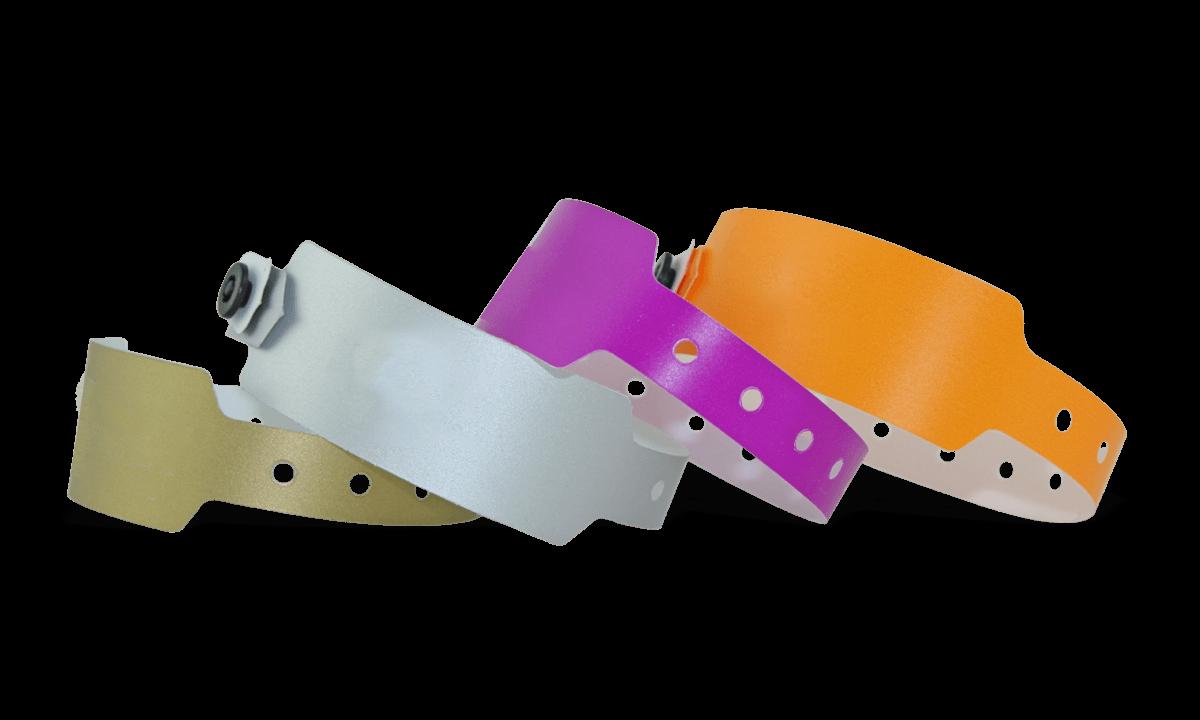 Kuntstoff-Armbänder, 25 mm