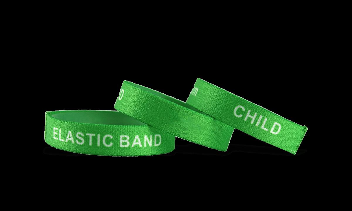 Personalisierte dehnbare Armbänder, Größe: Kinder