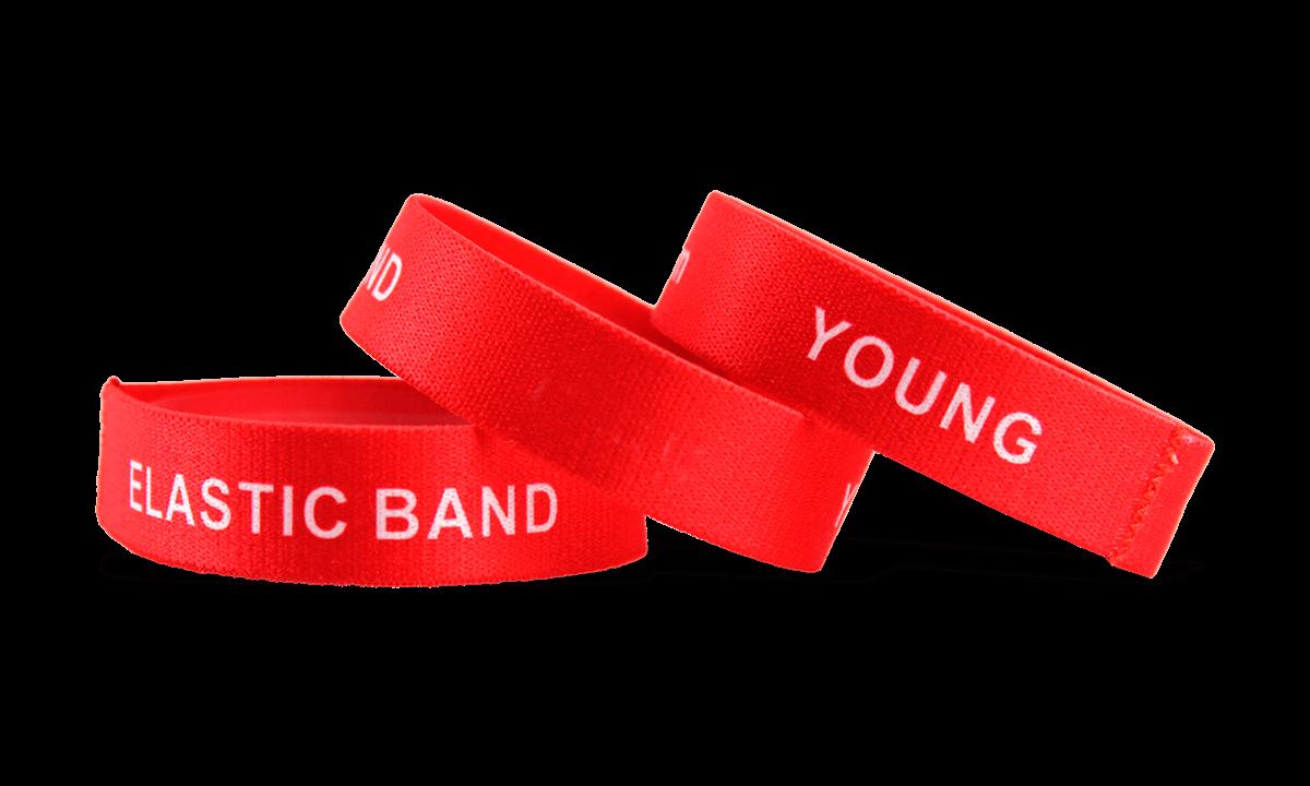 Personalisierte dehnbare Armbänder, Größe: Jugendliche