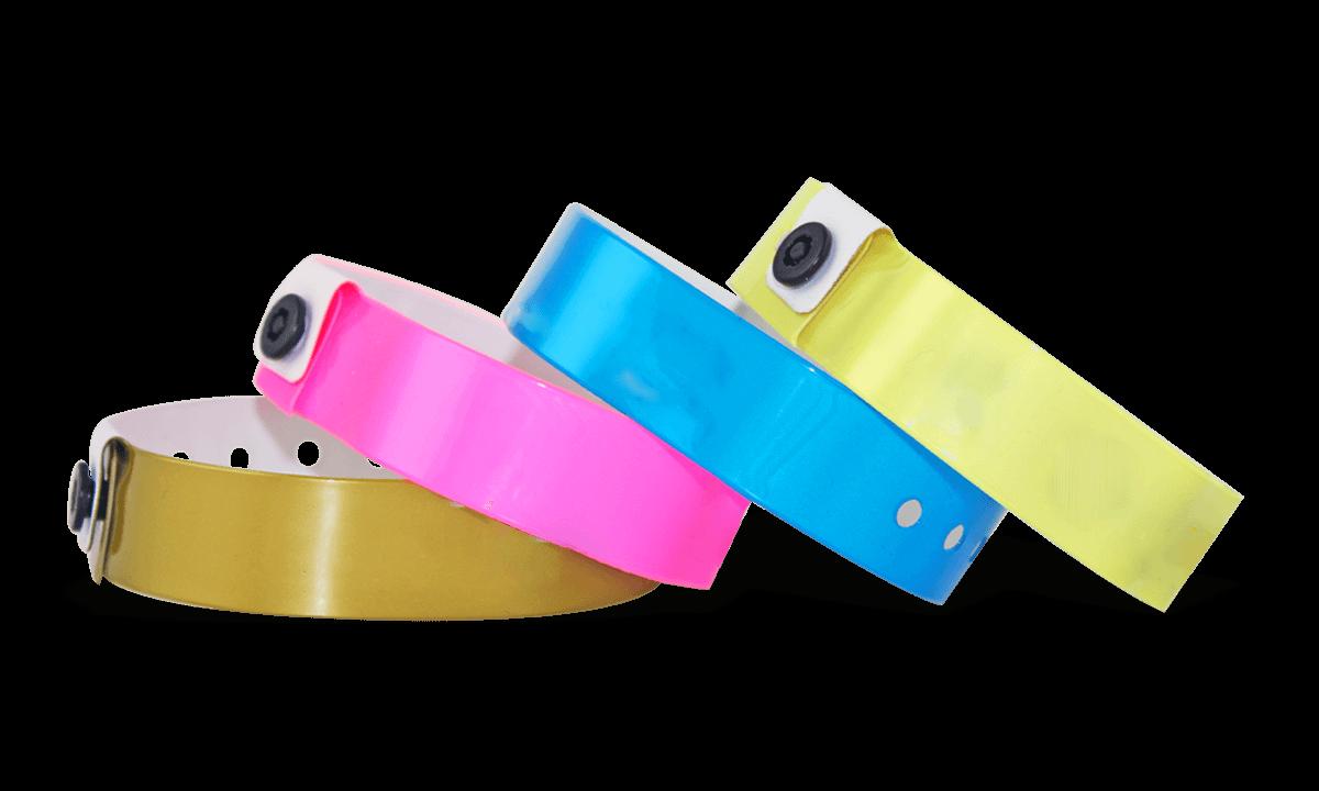 Medium Vinyl-Armbänder, 19 mm