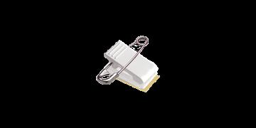 Nadel-Clip-Aufhängung mit Schaumband