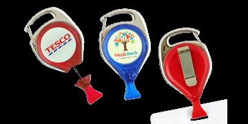 Personalisierter unbeweglicher Jojo-Karabiner mit Kartenclip