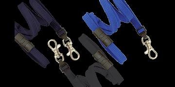 10mm dicke, hülsenförmige Schlüsselbänder mit trennbarer Lasche und Schnapphaken