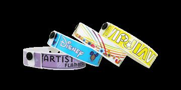Personalisierte vollfarbige Medium Kuntstoff-Armbänder, 19 mm