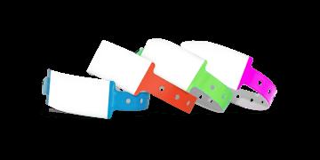 Beschreibbare Vinyl-Armbänder, 25 mm