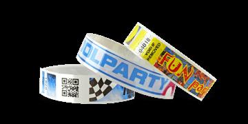 Vollfarbigen Barcode-Armbänder, NPS, 19 mm (matte Oberfläche)