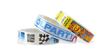 Vollfarbigen Barcode-Armbänder, NVS, 19 mm (glänzende Oberfläche)